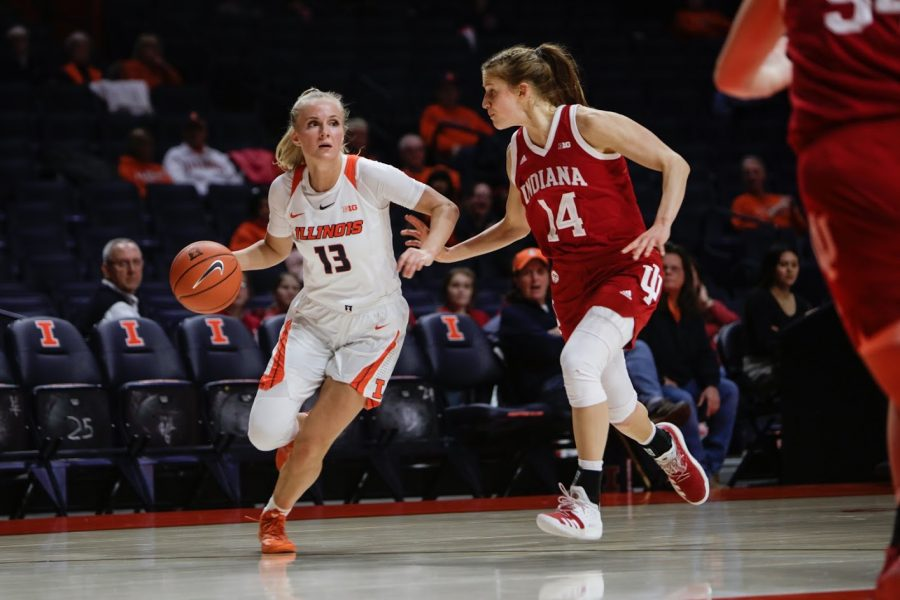 Illinois' leading scorer transfers to North Carolina