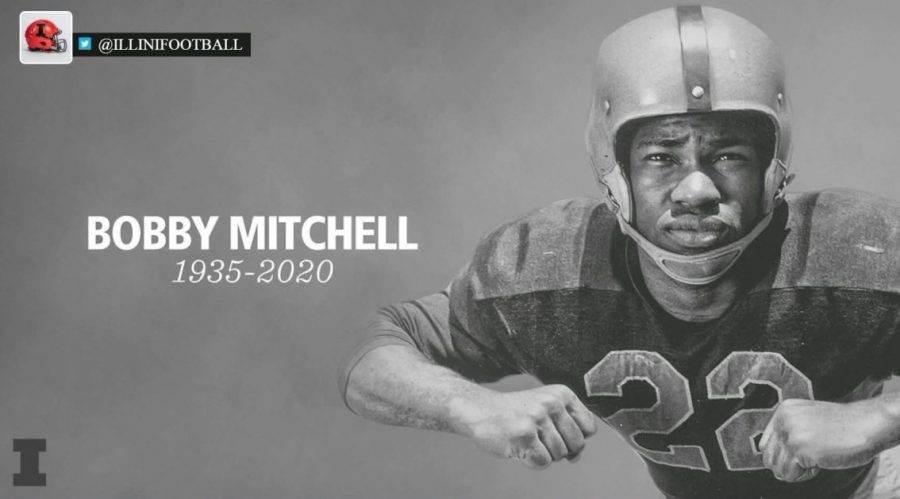 Former Illini football player Bobby Mitchell passes away at 84