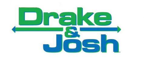 The official logo for the Nickelodeon show Drake & Josh.