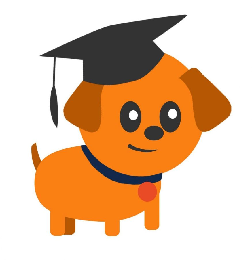 The official logo for the app Muppy, a moodle app for university students.