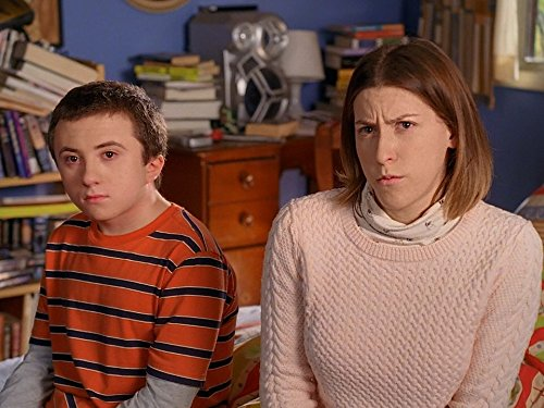 Eden Shar and Atticus Shaffer star in The Middle