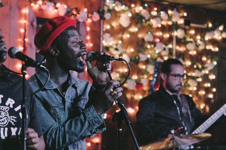 """Black Pumas perform a set at the Rose Bowl Tavern on Sept. 26. as a part of the Pygmalion Music Festival. This year, participants will have access to live streams on Zoom, YouTube and Facebook from Sept. 24 to 26 and all events are free or """"pay what you can."""""""