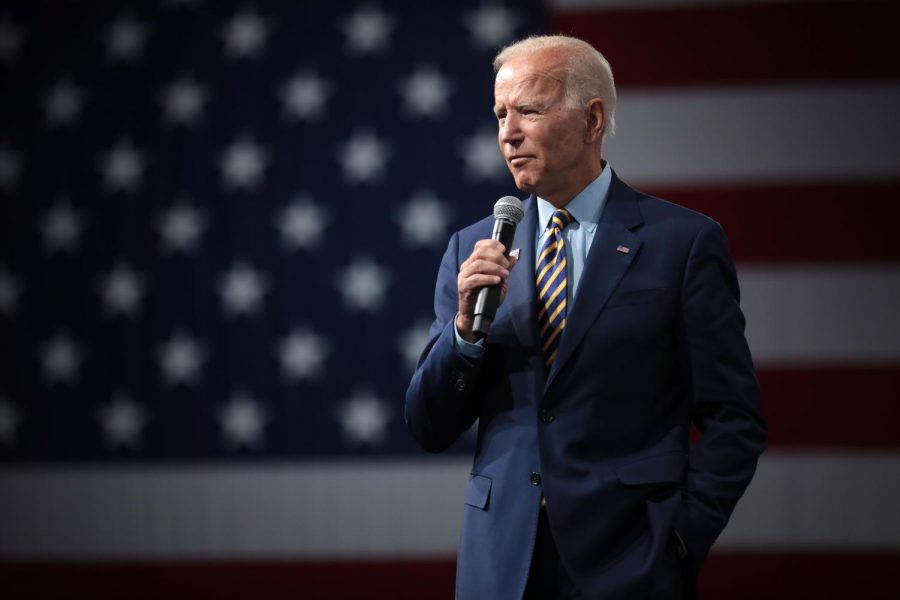 Former Vice President  Joe Biden speaks with attendees at the Presidential Gun Sense Forum at the Iowa Events Center in Des Moines, Iowa on Aug. 10, 2019. Biden has won the 2020 presidential race, making him the 46th president of the United States.