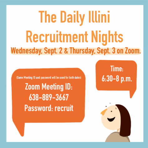 The Daily Illini hosts recruitment night
