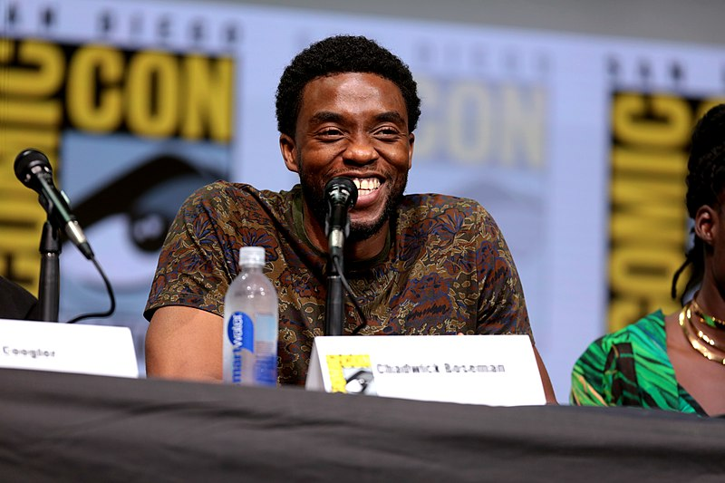 "Photo Courtesy of Gage Skidmore  Chadwick Boseman speaks at the 2017 San Diego Comic Con International for ""Black Panther."" Columnist Dennis proclaims Boseman was more than an actor and that he will live on in fans' memories as a social and political justice advocate."
