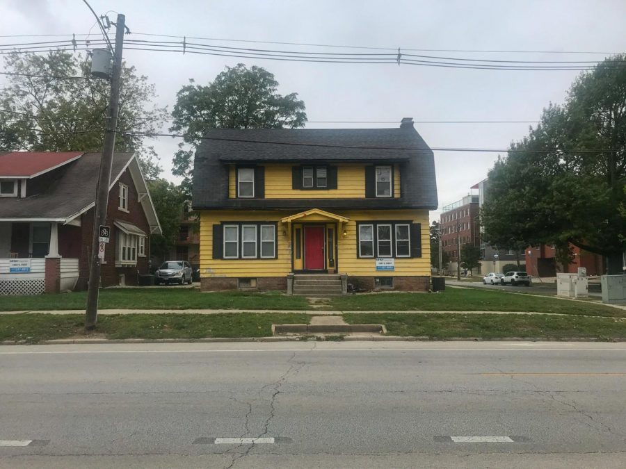Special Sections Editor Meghan Lyons' house sits on First Street on Saturday afternoon. Lyons enjoys living in an older home.