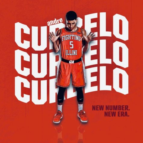 Freshman Andre Curbelo poses for a promotional photo.