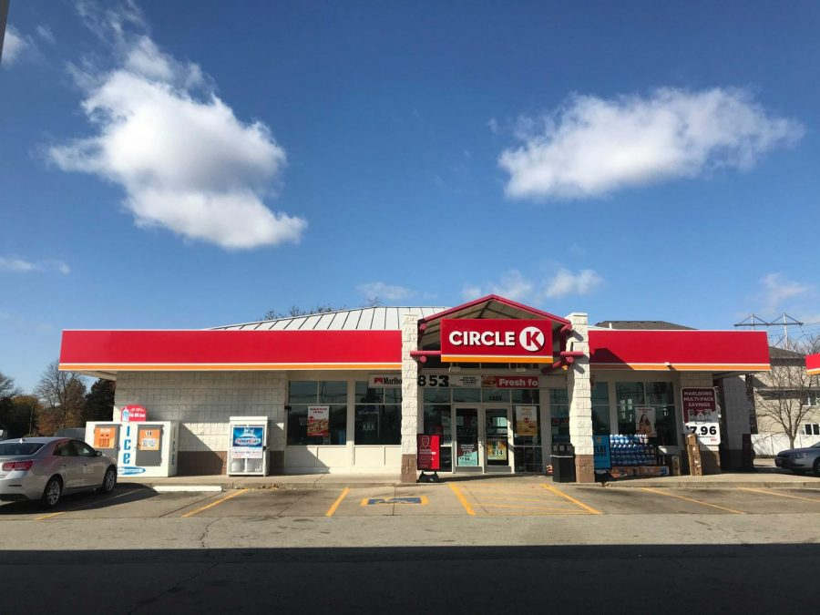 The Circle K on North Cunningham Avenue in Urbana on Sunday morning is pictured above. Police arrested a suspect of a human trafficking scheme here on Friday night.