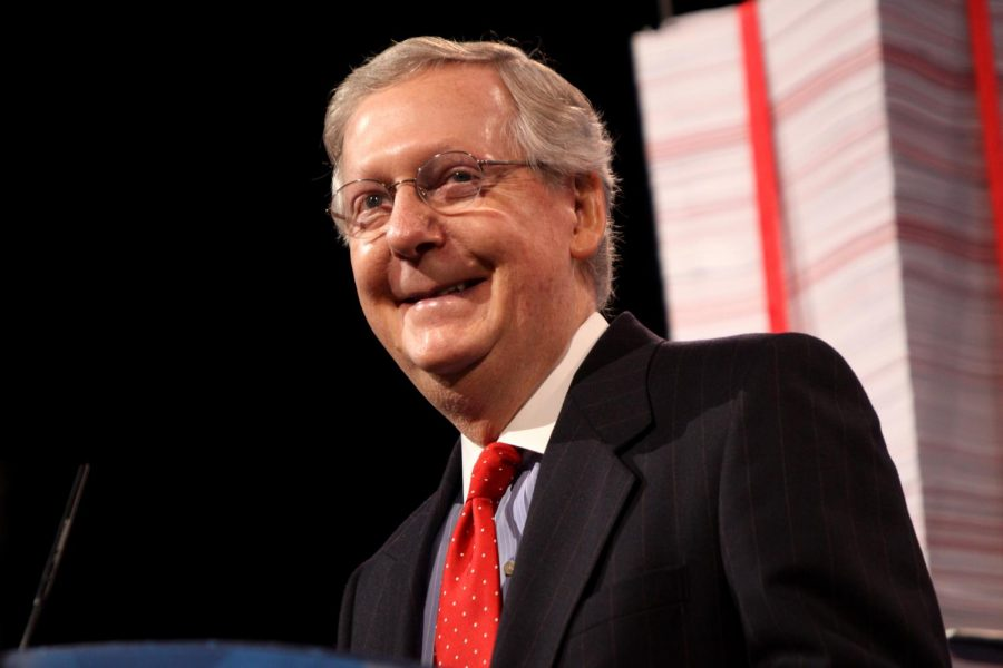 Senator+Mitch+McConnell+of+Kentucky+speaking+at+the+2013+Conservative+Political+Action+Conference+%28CPAC%29+in+National+Harbor%2C+Maryland.+Columnist+Clint+argues+Republicans+don%27t+care+about+the+economy.