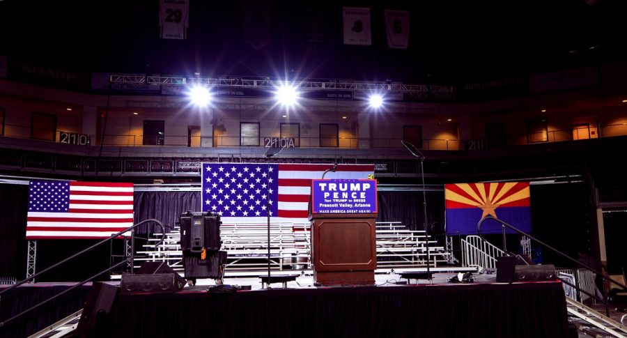 This is the first Trump-Pence Rally in Arizona, held on October 4, 2016. Columnist Nathaniel reminds America that democracy takes work.