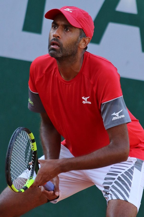 Illinois alum Rajeev Ram competes at the French Open on May 31, 2018. Ram shared his experience playing during COVID-19.
