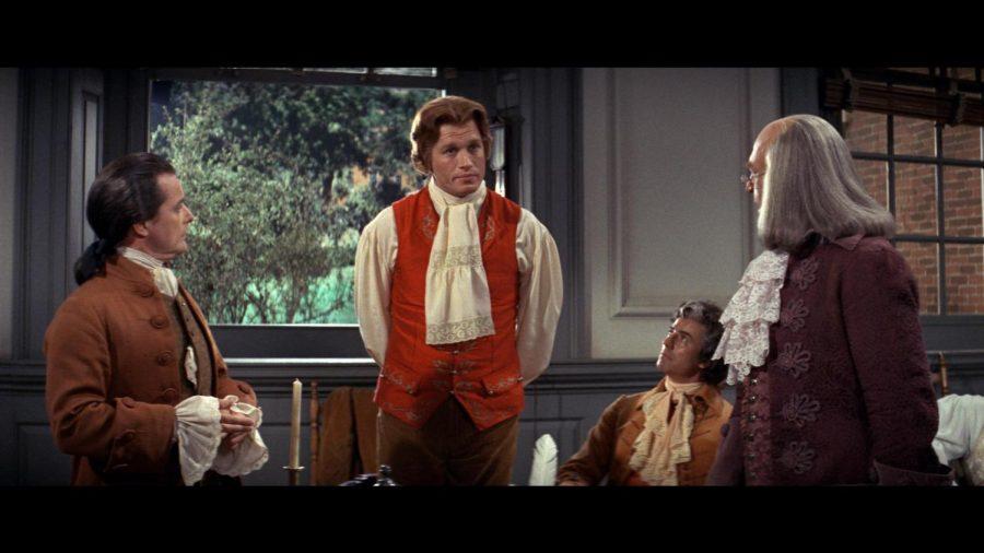Howard Da Silva, William Daniels, Ron Holgate and Ken Howard star in 1776.