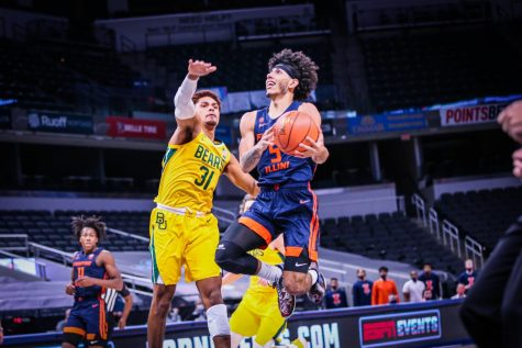 Illinois runs out of gas in second half, falls to Baylor 82-69