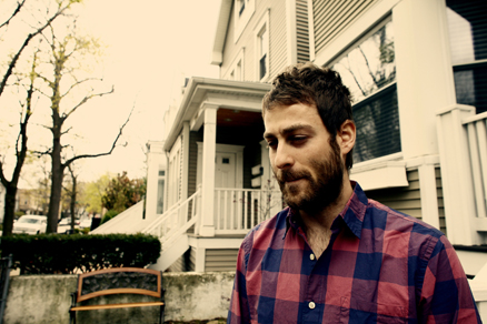 Artist Mike Kinsella of American Football poses for a photo in Chicago in 2011.