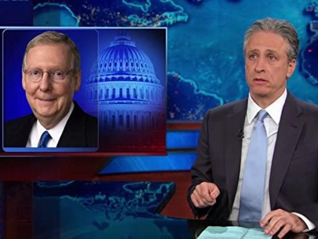 Jon Stewart hosts an episode of