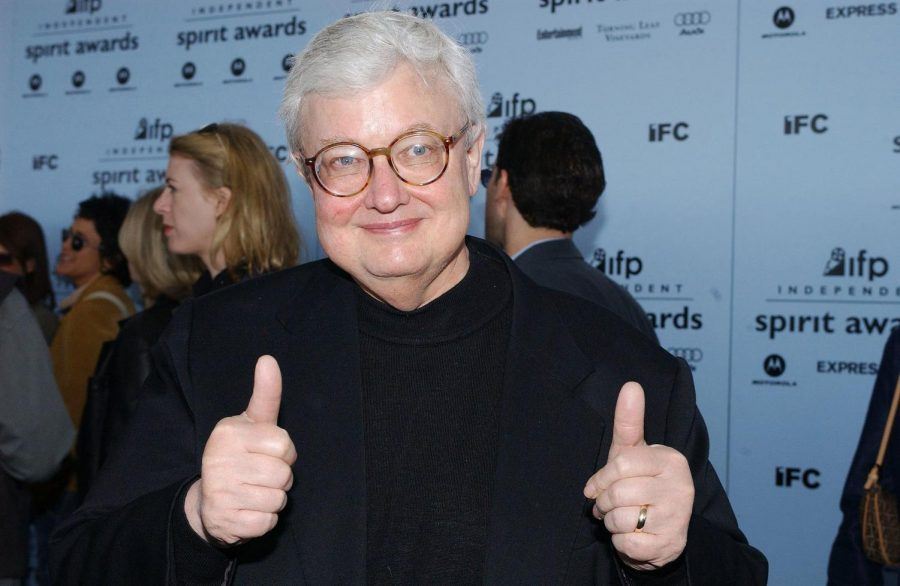 Roger Ebert attends the IFP Independent Spirit Awards in Santa Monica, California, on March 22, 2003. Columnist Noah stresses the successes of famous Illinois alumni like Ebert.