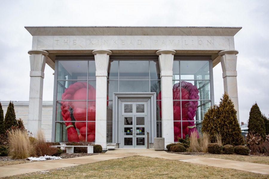 The Kinkead Pavilion of the Krannert Art Museum lies empty on Wednesday morning. The KAM has recently added a new display of Asian ceramics in the Moore Gallery of Decorative Arts.