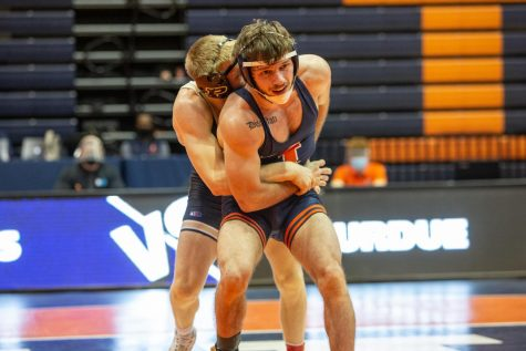 Illini sports update: Wrestling, gymnastics, volleyball teams off to undefeated starts
