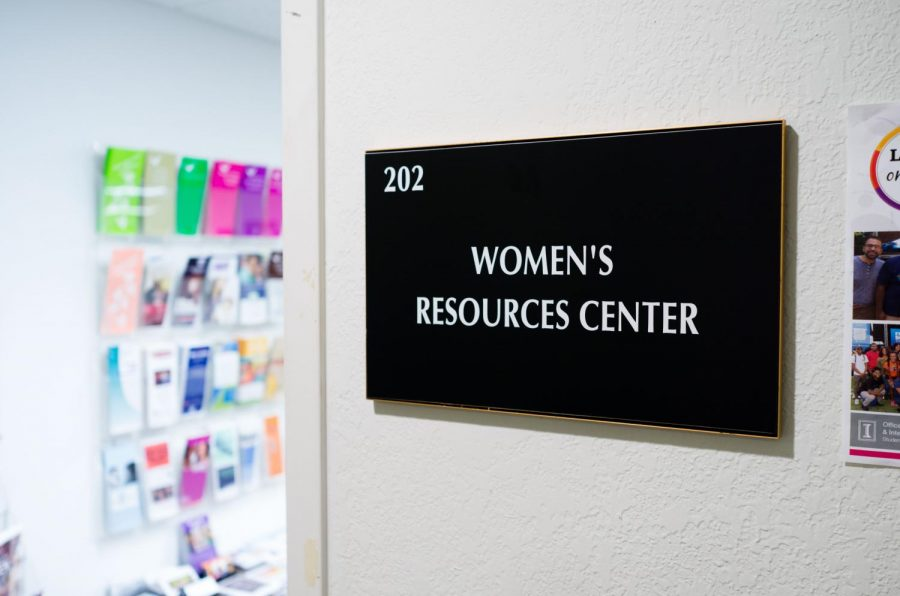The UI Women's Resource Center is located at 616 East Green Street. The center was recently awarded a grant for $300,000.