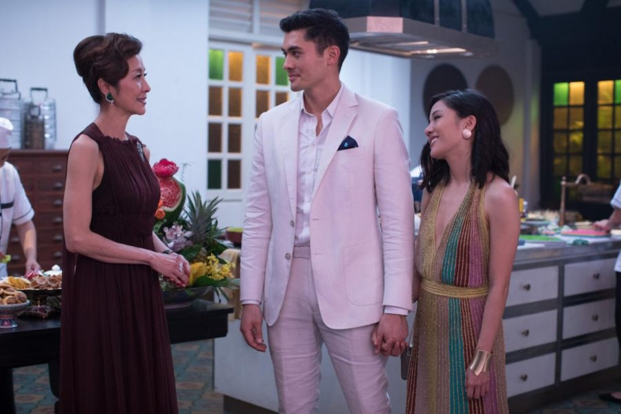 "Constance Wu and Henry Golding star in ""Crazy Rich Asians."" The film was released on Aug. 15, 2018."
