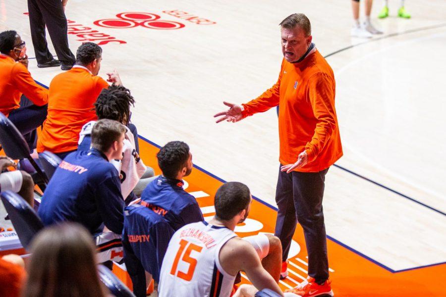 Underwood turns Illinois basketball program around through team-building, culture, belief