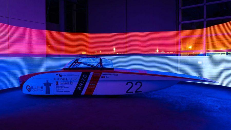 Illini Solar Car team reveals new vehicle, anticipates success