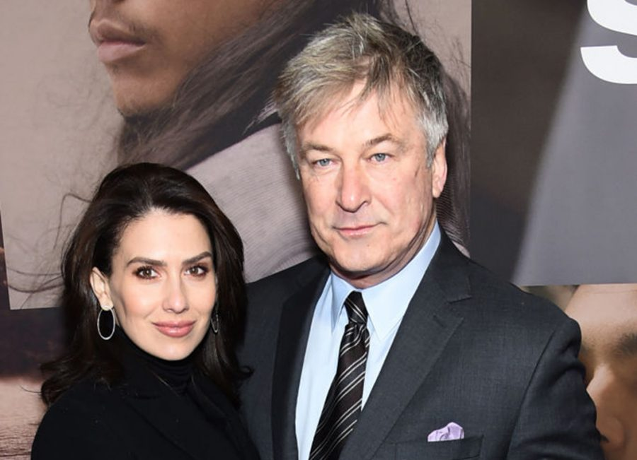 Hilaria Baldwin and Alec Baldwin attend the opening night of