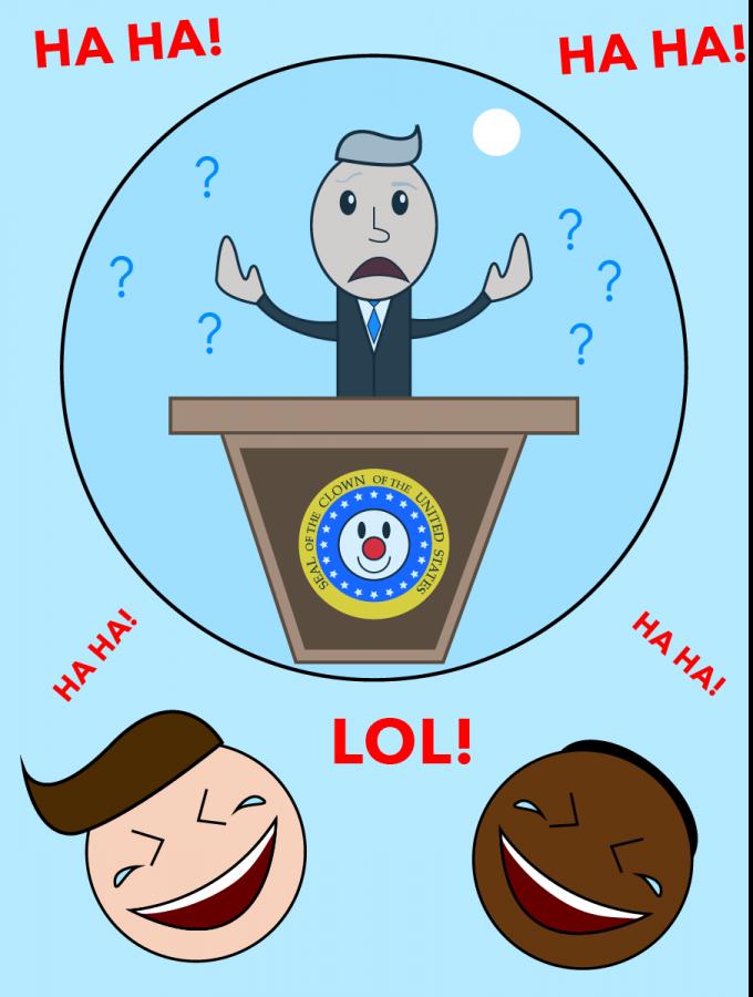 Politician Bubble Graphic