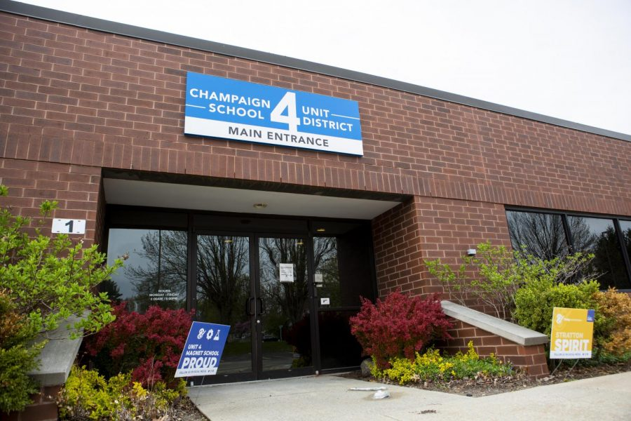 The Champaign Unit 4 District building sits quietly at 502 W. Windsor Road on Saturday afternoon. The Champaign City Council is partnering with school districts to create the Champaign LIFT program and to help Black students thrive in their academic environment.