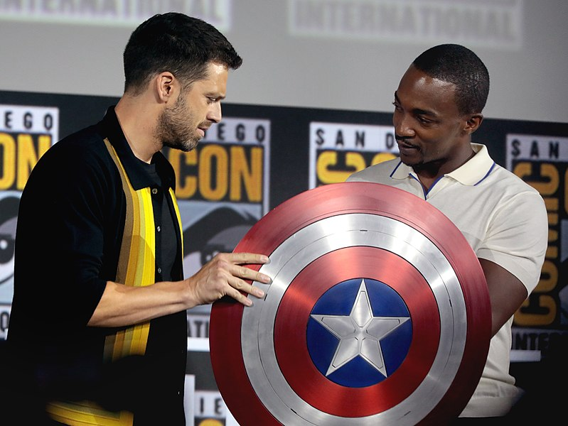 "Actors Sebastian Stan and Anthony Mackie speak at the 2019 San Diego Comic Con International for ""The Falcon and the Winter Soldier."" Columnist Micky Horstman has enjoyed recent Marvel TV series."