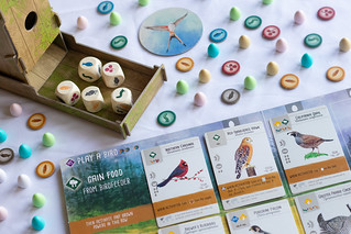 "The board game ""Wingspan"" is laid out on a table ready to play. Columnist Samuel Rahman argues that it's time to stray away from the classics and start playing modern tabletop games."