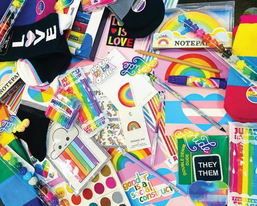 Art Coop puts together Kindness Queer Kits for people to enjoy. They want to include everyone no matter their choices.