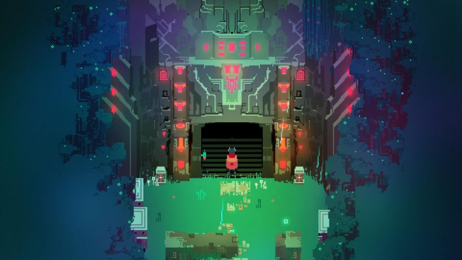 A screenshot of the video game Hyper Light Drifter is shown above. The game was released on Mar. 31, 2016.