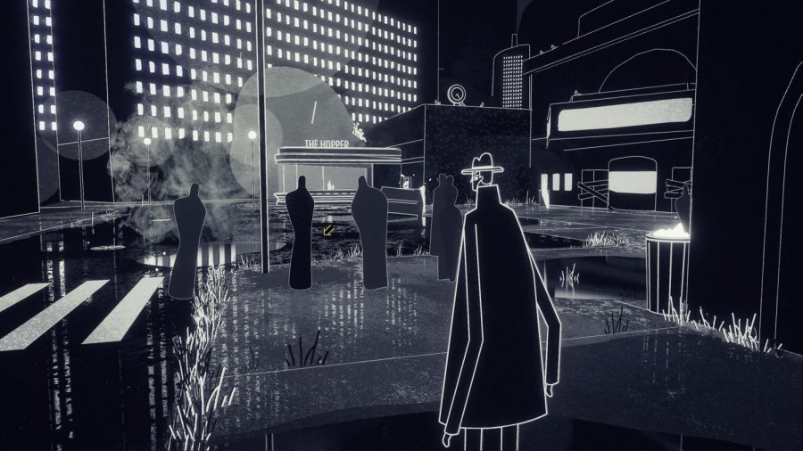"""A screenshot of the video game """"Genesis Noir"""" is pictured above. The game was released March 26."""