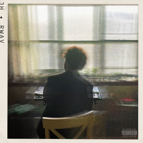 Justice Hills debut album called Room With a View is shown above. Hill wrote the album during the pandemic as he overcame feelings of loss and it will be released on April 20.