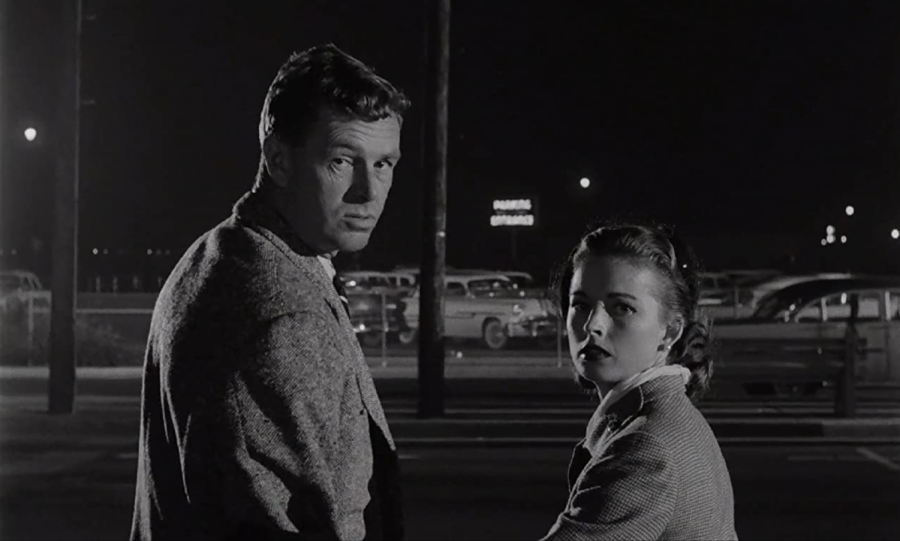 Sterling Hayden and Coleen Gray star in the movie The Killing. The film was released on May 20, 1956.