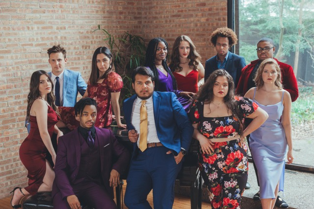 Seniors in the University's Bachelor of Fine Arts acting program pose for a photo. The group is set to perform at the BFA Showcase which will start streaming online today.
