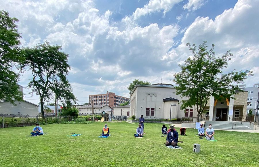 On July 4, people came together to pray outside during the pandemic following all guidelines and safety rules. Students at Illinois are working to get accommodations during Ramadan because of the holiday's celebrations festivities.