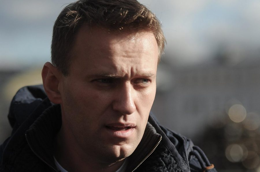 Russian lawyer Alexei Navalny stares with intent on Oct. 22, 2011. Columnist Eddie Ryan argues that Navalny is facing a turning point in his career.