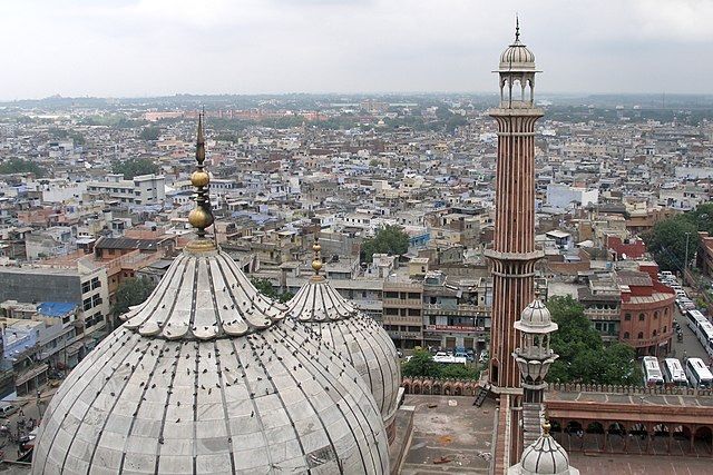 A+photo+is+taken+from+the+Jama+Masjid+mosque+in+Old+Delhi%2C+India+on+Sept.+27%2C+2007.+Multiple+students+at+the+University+are+traveling+back+to+India+where+there+is+a+spike+in+Covid-19+cases.