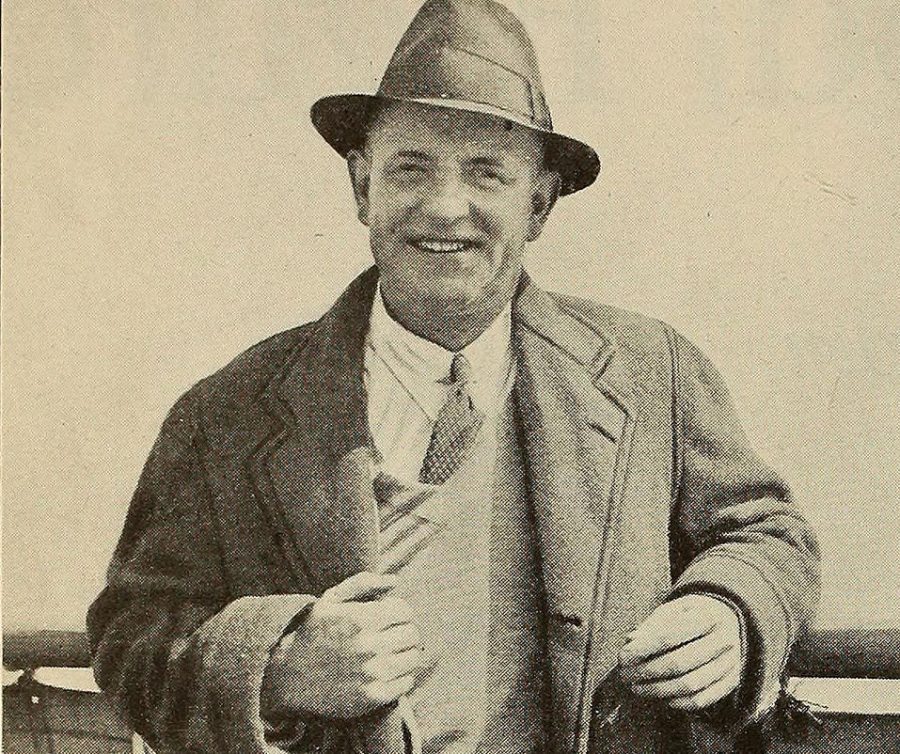 """Author P.G. Wodehouse poses for a photo in the 1930's. Columnist Eddie Ryan claims that Wodehouse's novel """"The Code of the Woosters"""" perfectly encapsulates British social conventions through his use of comedic remarks."""