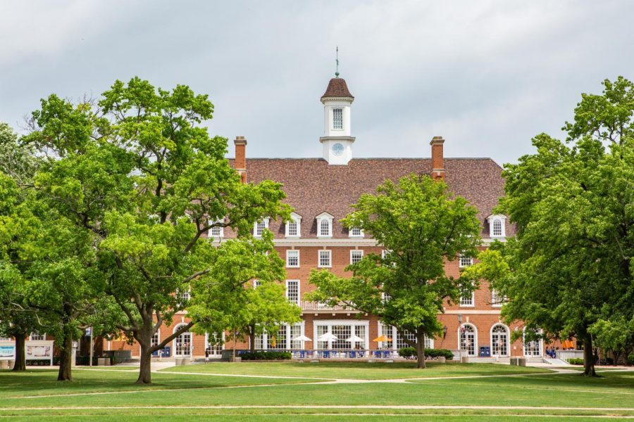 The Illini Union and Main Quad lie empty on June 26. Embracing everything that college has to offer will prepare you for a better college transition.