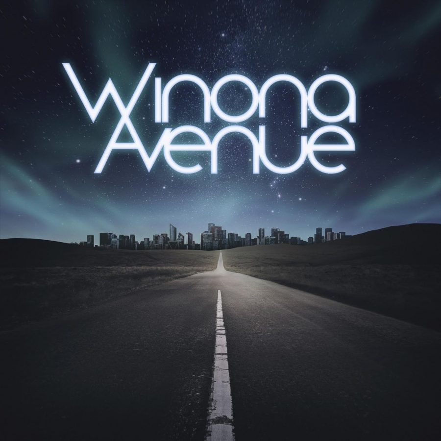 The album cover for Winona Avenues self-titled, debut album is shown above. The album will come out June 25.