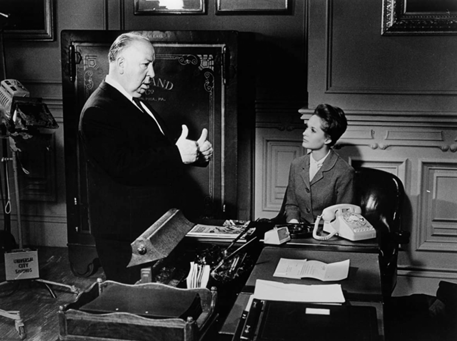 Alfred Hitchcock and Tippi Hedren star in the film Marnie. The movie was released on July 22, 1964.