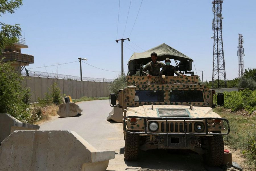 The Afghan National Army (ANA) stands guard at a checkpoint outside a base after all US troops left on July 2, 2021. This weeks worldly events are looked at in-depth.