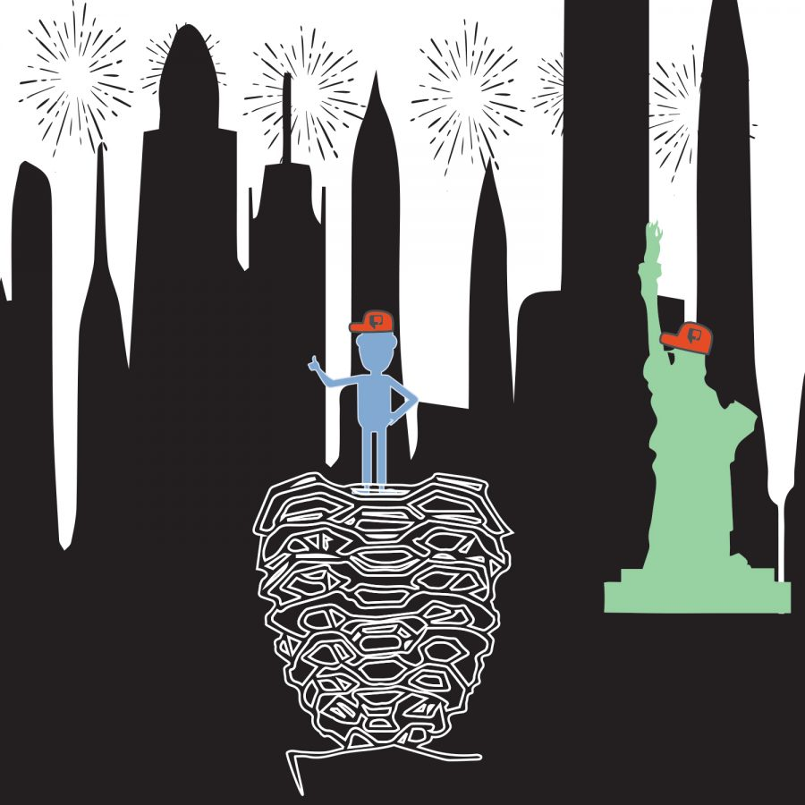 Satire | Campus Scout | Scout travels across America: New York City