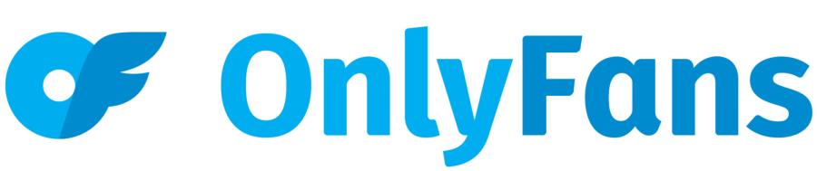 The OnlyFans logo is pictured above. OnlyFans has provided an outlet for people to post photos of themselves.