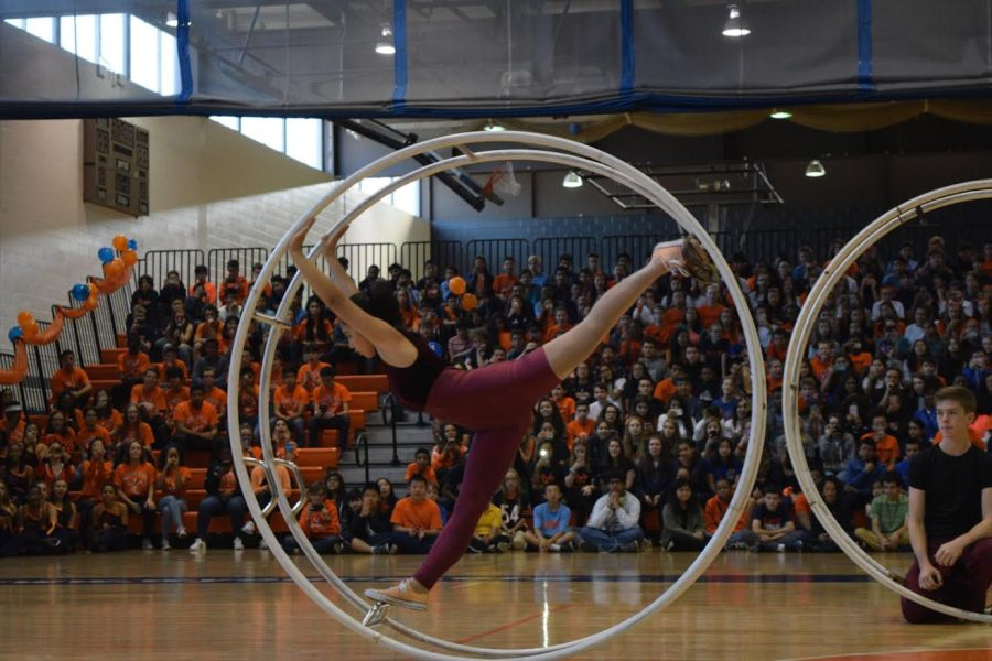 Mearieta Clemente is a Junior at the University who performs around the world as a wheel gymnast.