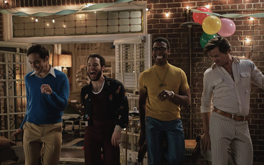 Andrew Rannells, Robin de Jesus, Jim Parsons, and Michael Benjamin Washington star in the film The Boys in the Band released on Sept. 30, 2020. Columnist Mickey Horstman reviews LGBTQ+ media that everyone will enjoy.